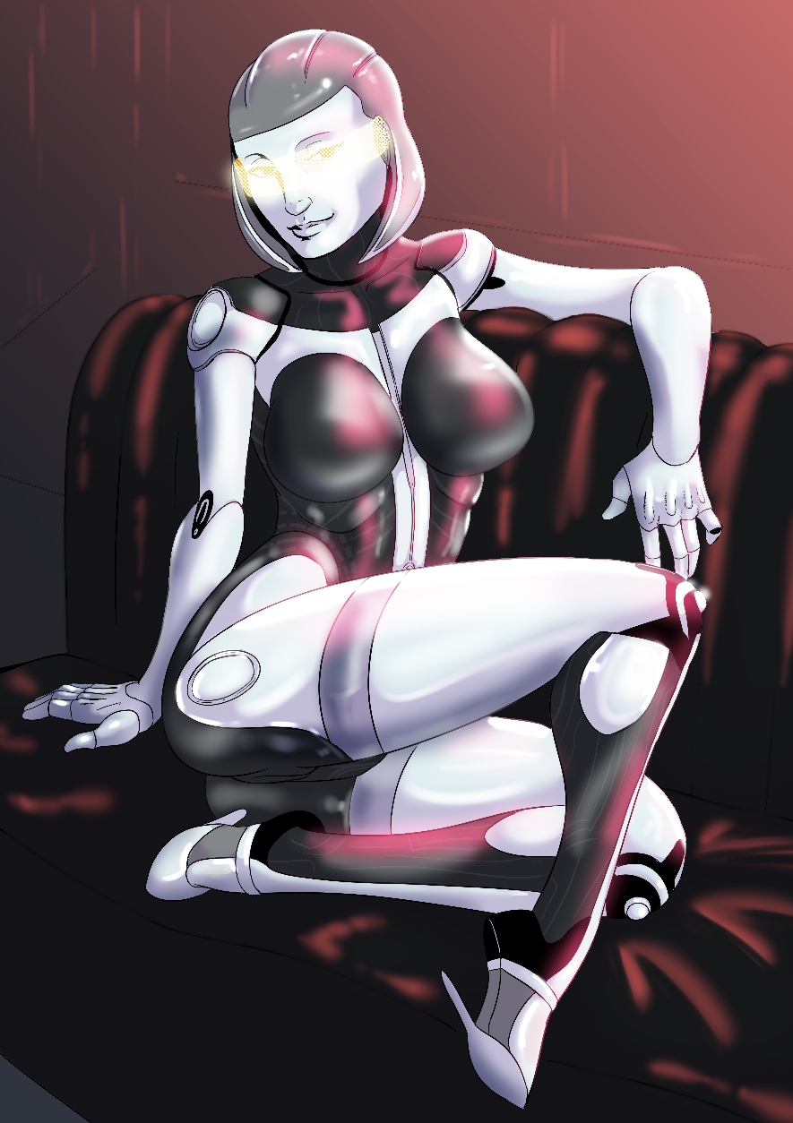 mass effect gifs Female bendy and the ink machine