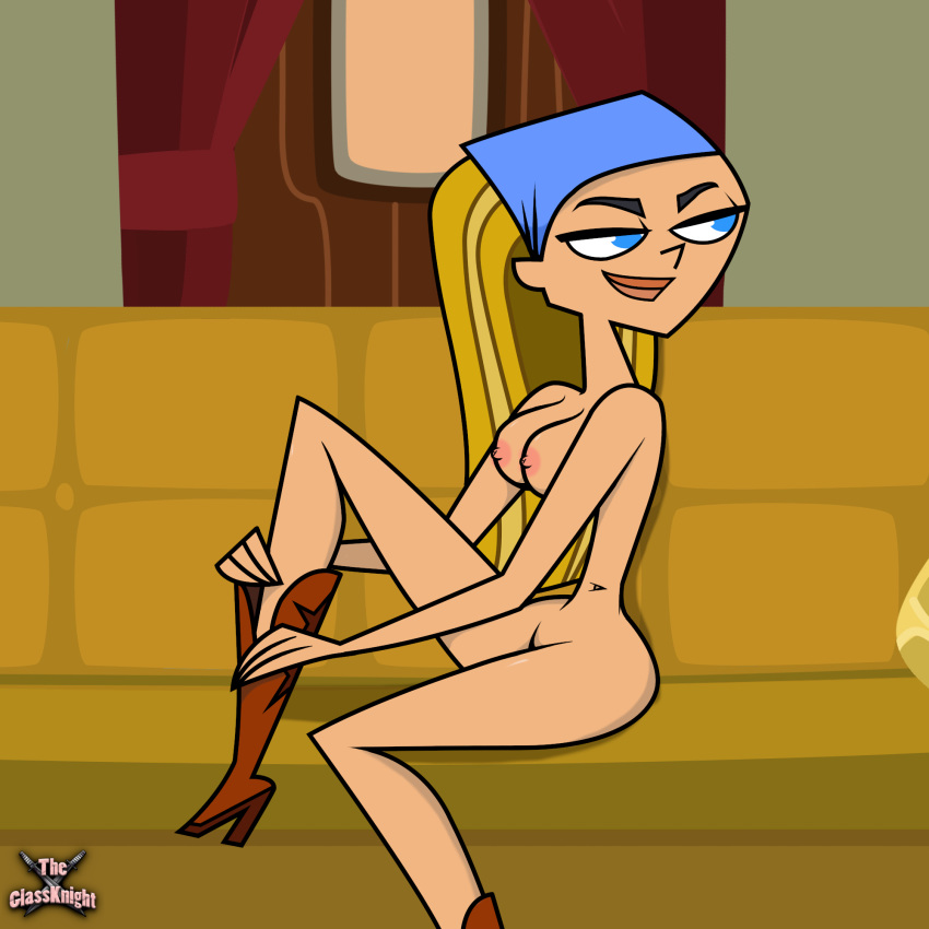 island girls naked from total drama Rebecca one piece